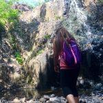 Hiking Hemlock Falls in South Orange, New Jersey