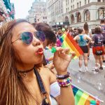 Attending Pride Parade in New York City (and eating at the famous Sugar Factory)