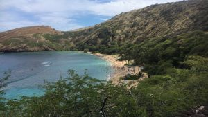 Snorkeling in The Deadly Hanauma Bay in Honolulu, Hawaii