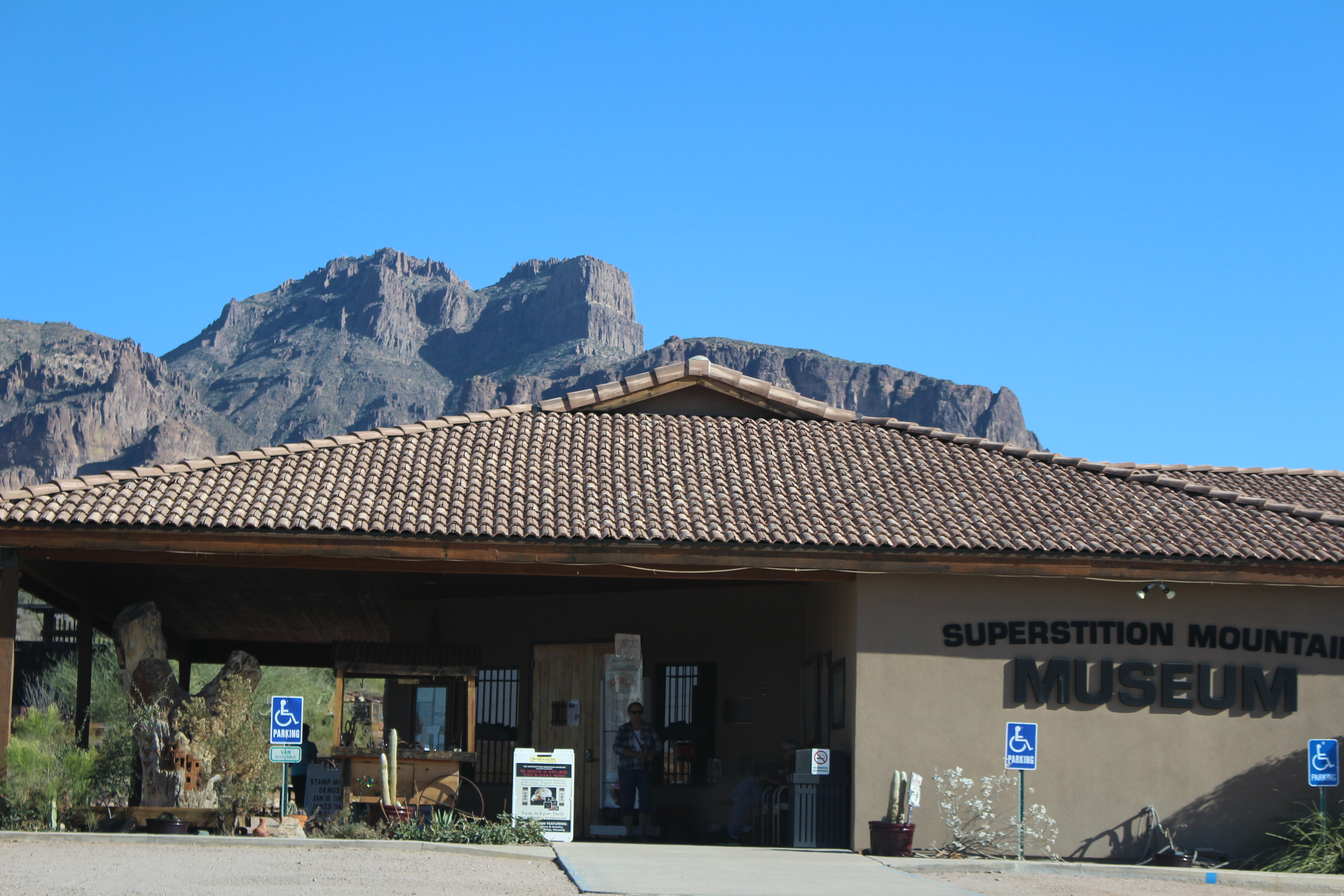 Superstition Mountain Museum Entrance