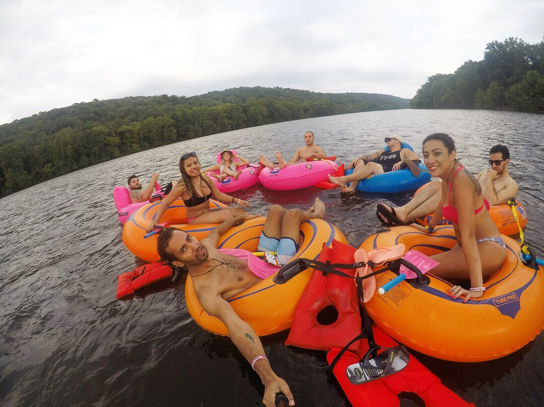 Experiencing the Delaware Water Gap: Delaware River Tubing