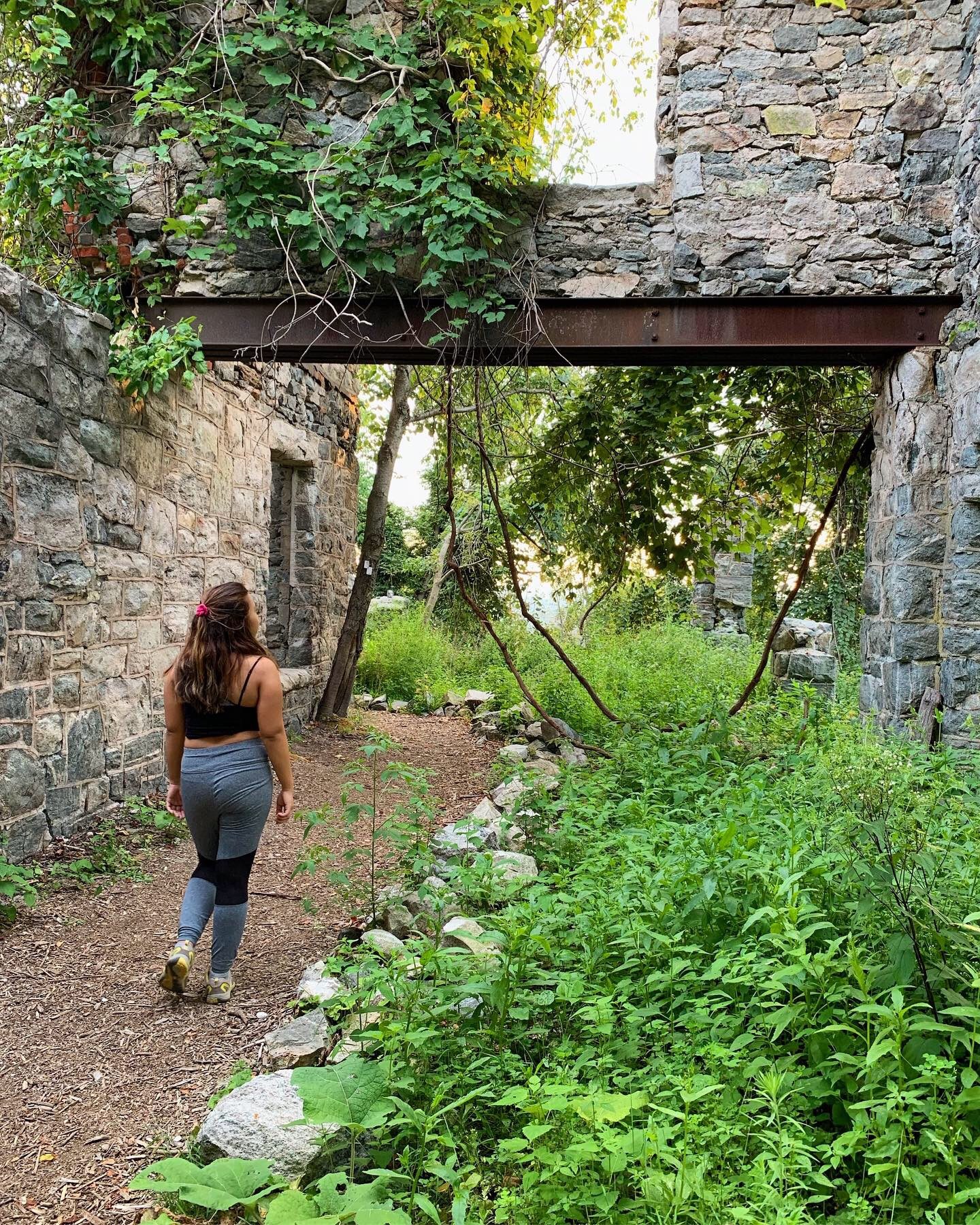 Exploring Castle Ruins In A Ramapo Mountain State Forest Hike