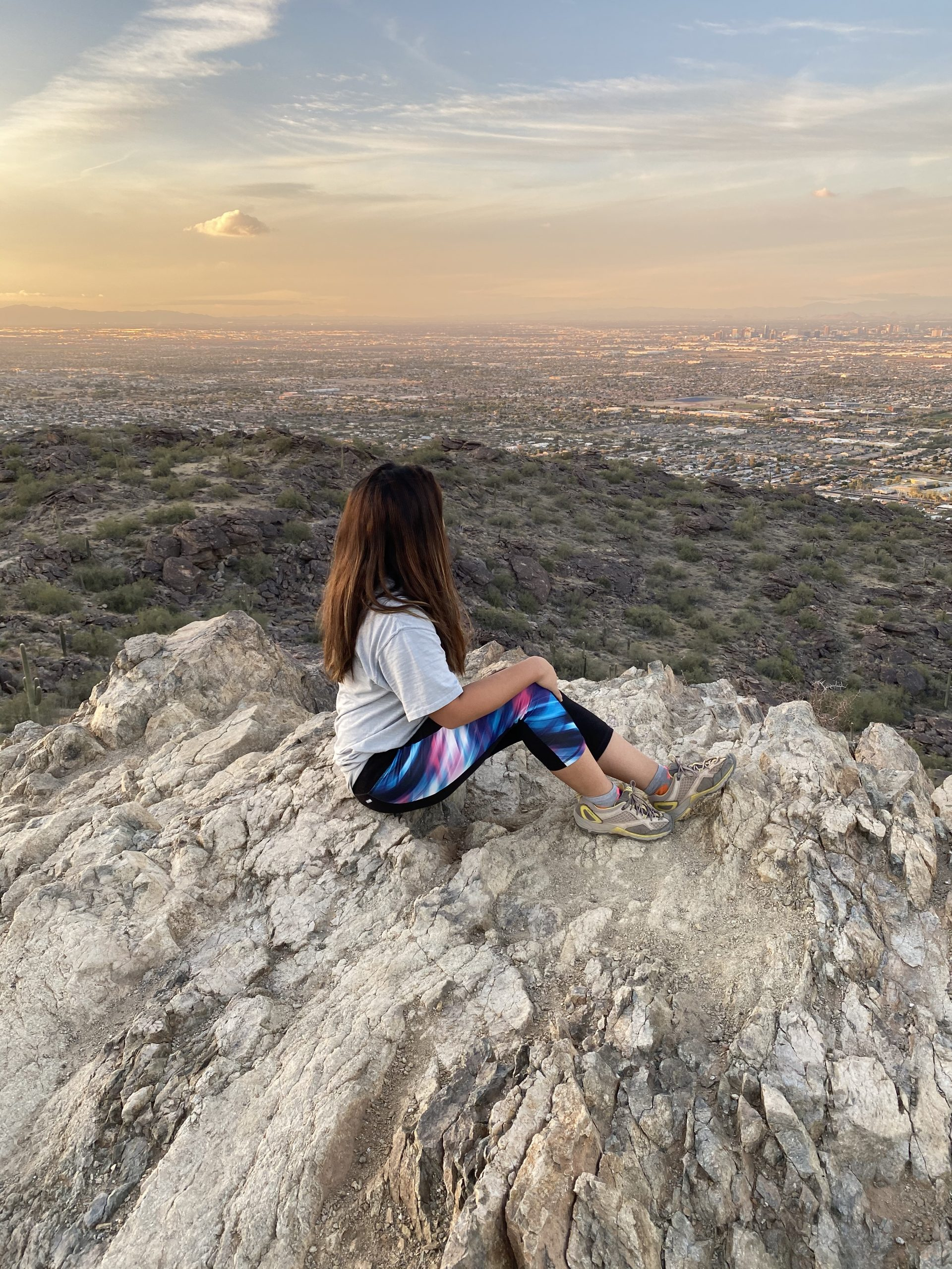 Hiking the Hidden Valley Trail on South Mountain in Phoenix, Arizona
