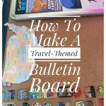 How To Make A Travel-Themed Bulletin Board