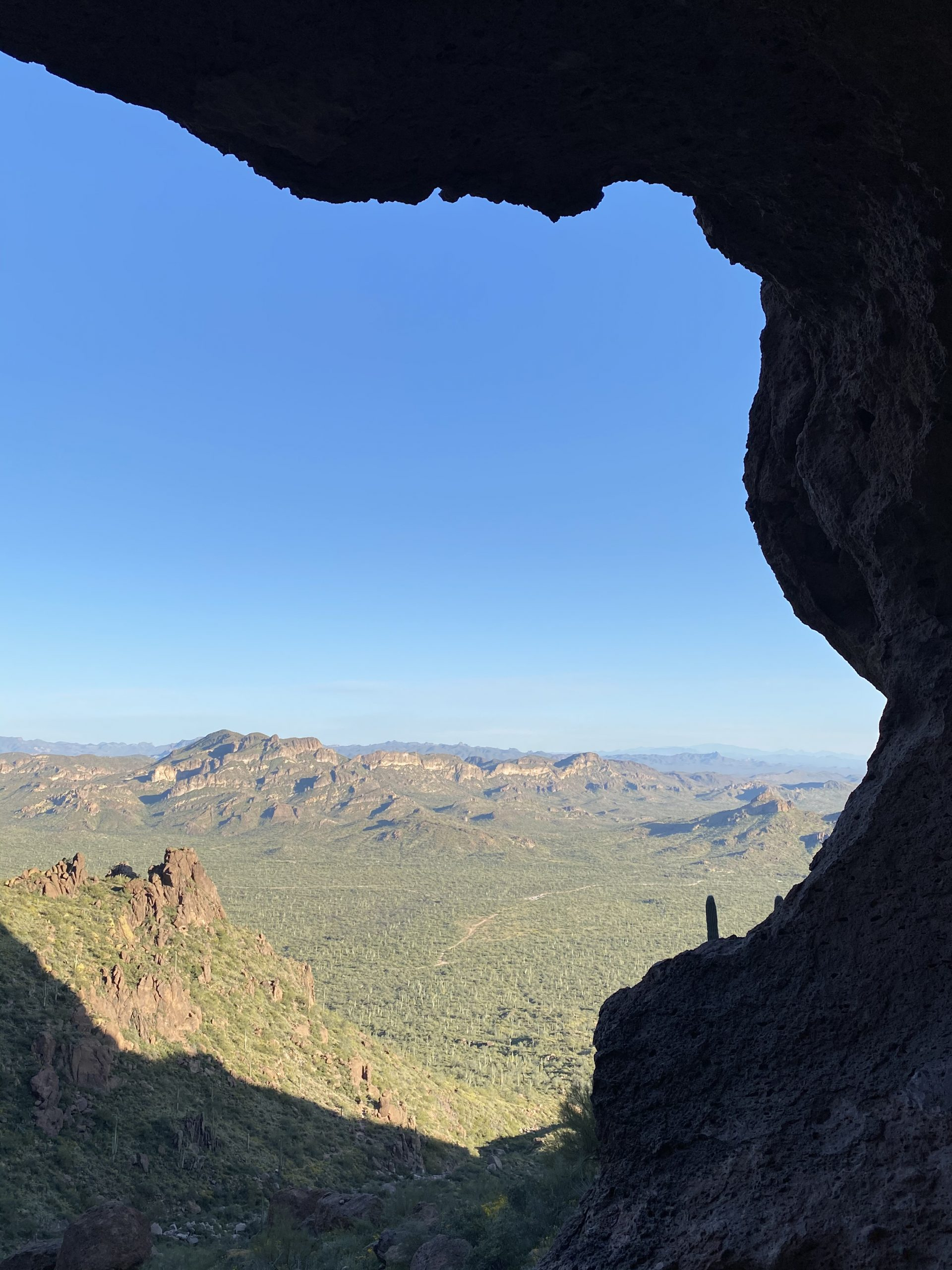 Hike The Wave Cave Trail in The Superstition Mountains
