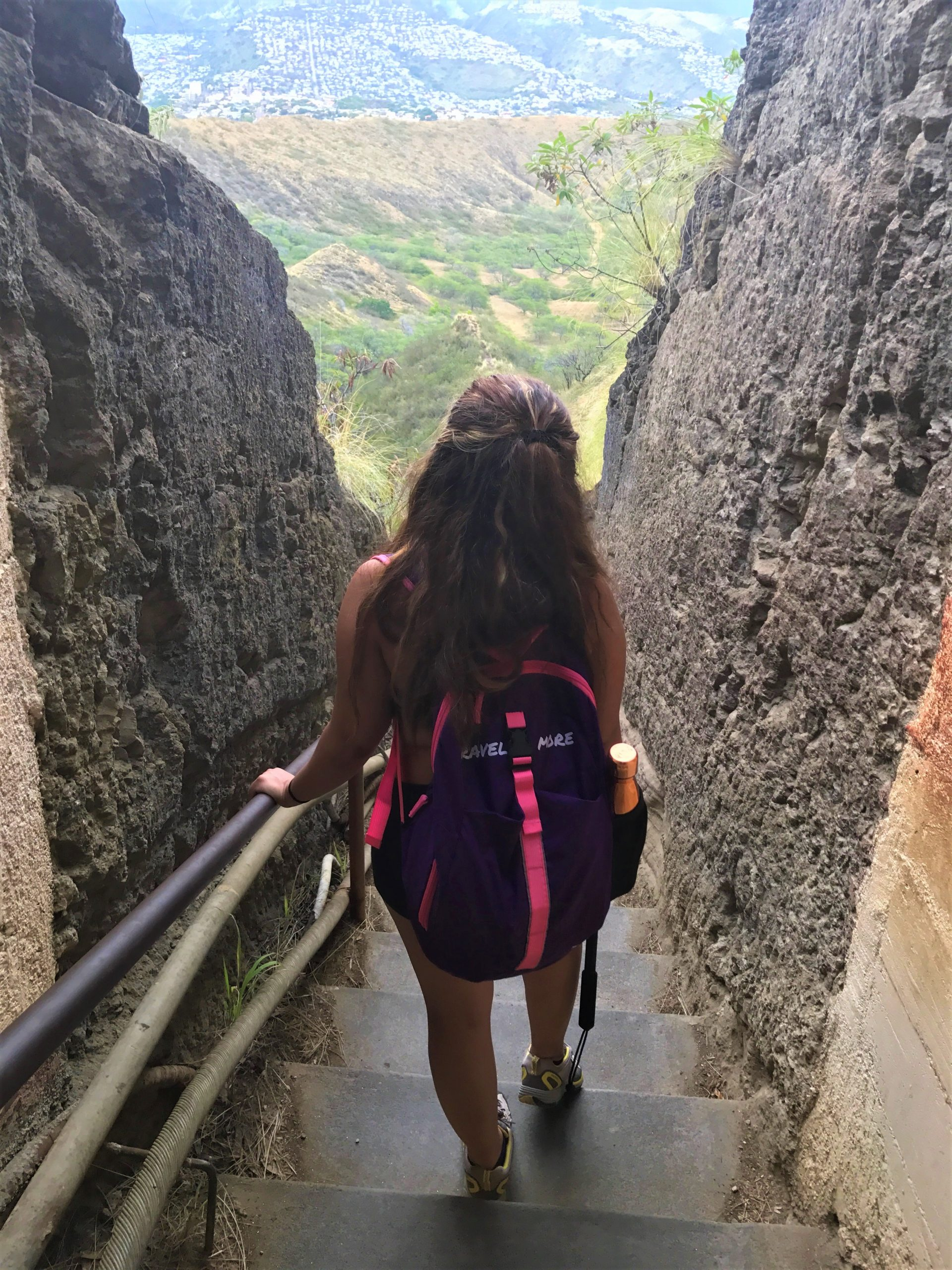 Hiking Diamond Head Crater in Honolulu, Hawaii