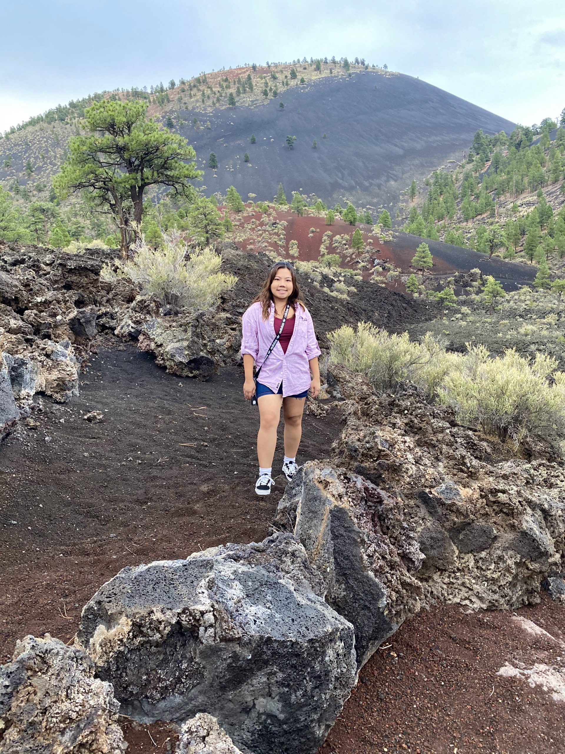 Sunset Crater Volcano National Monument: Lava Flow Trail