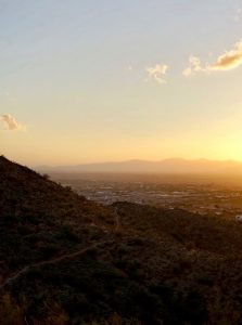 Sunrise Mountain Trail in Peoria, Arizona