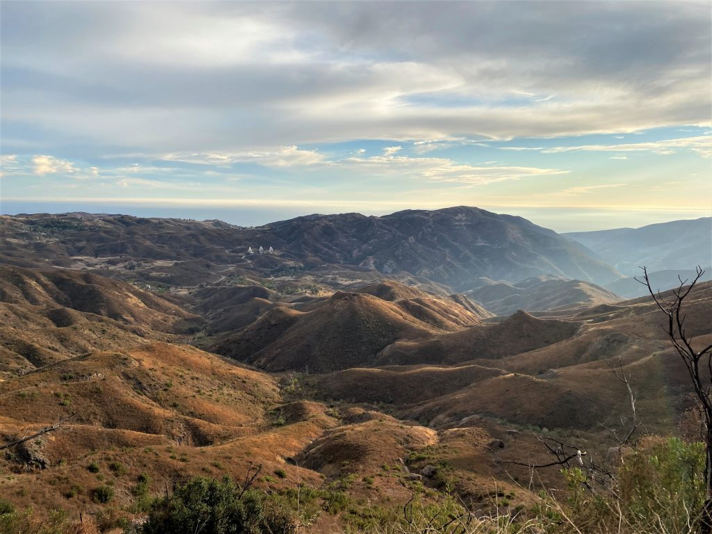 Santa Monica Mountains and Hiking Grotto Trail